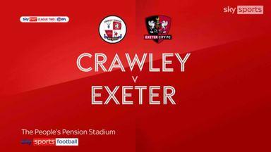 Crawley 1-3 Exeter