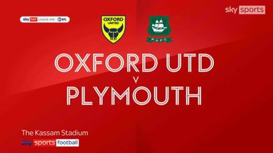 Oxford 1-3 Plymouth