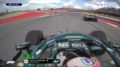 Vettel rages over team radio after near miss