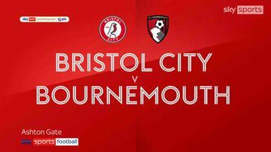 Bristol City 0-2 Bournemouth