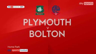 Plymouth 3-0 Bolton