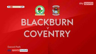 Blackburn 2-2 Coventry