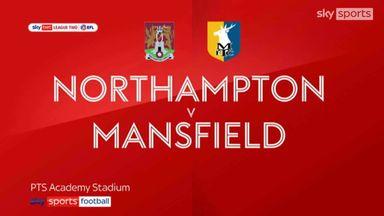 Northampton 2-0 Mansfield