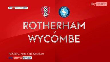 Rotherham 0-0 Wycombe