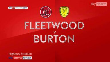 Fleetwood 0-1 Burton