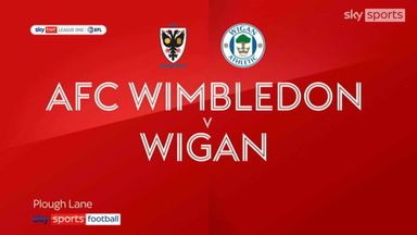 Wimbledon 0-2 Wigan