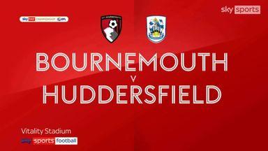 Bournemouth 3-0 Huddersfield