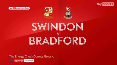 Swindon 1-3 Bradford