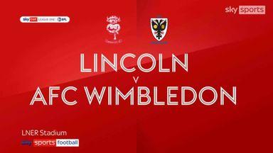 Lincoln 0-1 AFC Wimbledon