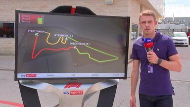 SkyPad: United States GP track guide