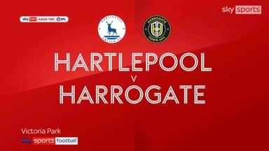 Hartlepool 3-2 Harrogate
