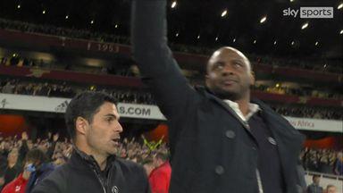 Vieira given hero's welcome