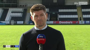 Gerrard pleased with the result