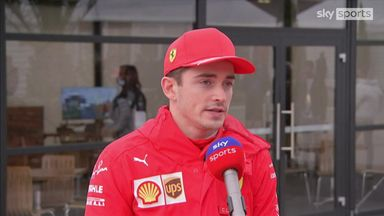 Leclerc: Step in right direction for Ferrari