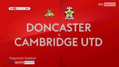 Doncaster 1-1 Cambridge Utd