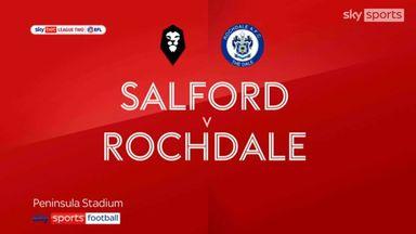 Salford 0-0 Rochdale