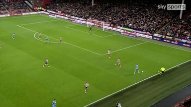 Shot or cross for Wallace goal?