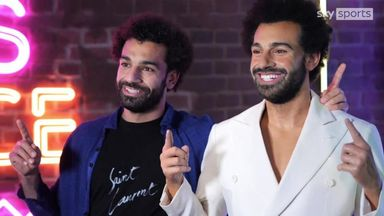 Salah comes face to face... with himself!