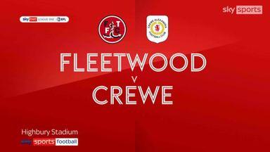 Fleetwood 3-0 Crewe