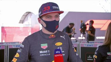Verstappen: It was tough to hang on