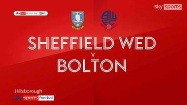 Sheff Wed 1-0 Bolton