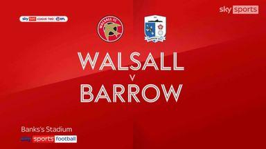 Walsall 2-2 Barrow