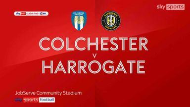 Colchester 1-0 Harrogate