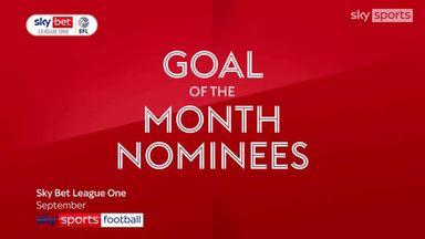 League One GOTM nominees: September