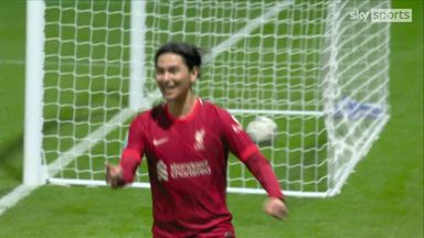 Minamino flicks in for Liverpool!