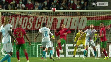 Ronaldo denied incredible overhead kick