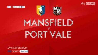 Mansfield 1-1 Port Vale