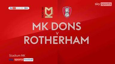 MK Dons 0-3 Rotherham