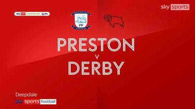 Preston 0-0 Derby