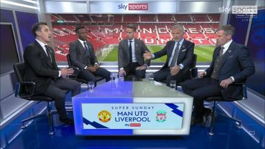 'These two jokers!' Nev vs Souness & Carra on Man Utd woes