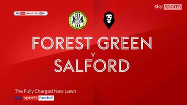 Forest Green 3-1 Salford