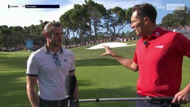 Gareth Bale talks golf at the Open de Espana