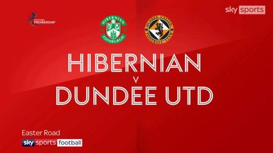 Hibernian 0-3 Dundee United