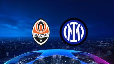 UCL: Shakhtar v Inter