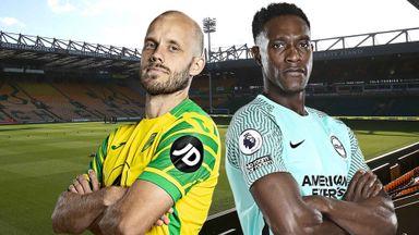 PL: Norwich v Brighton
