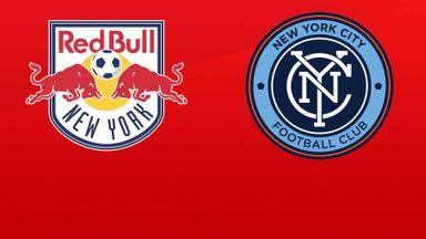 MLS: NY Red Bulls v NYC FC