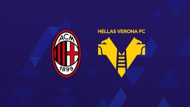 Serie A: AC Milan v Verona
