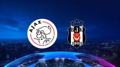 UCL: Ajax v Besiktas