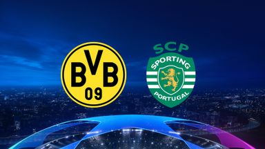 UCL: Dortmund v Sporting CP