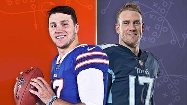 Bills @ Titans Hlts