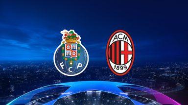 UCL: Porto v AC Milan