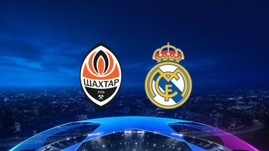 UCL: S Donetsk v Real Madrid