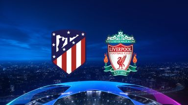 UCL: Atletico v Liverpool