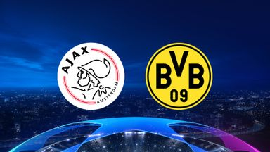 UCL: Ajax v Dortmund