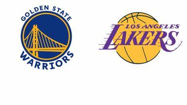 NBA: Golden State @ LA Lakers