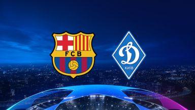 UCL: Barcelona v Dynamo Kyiv